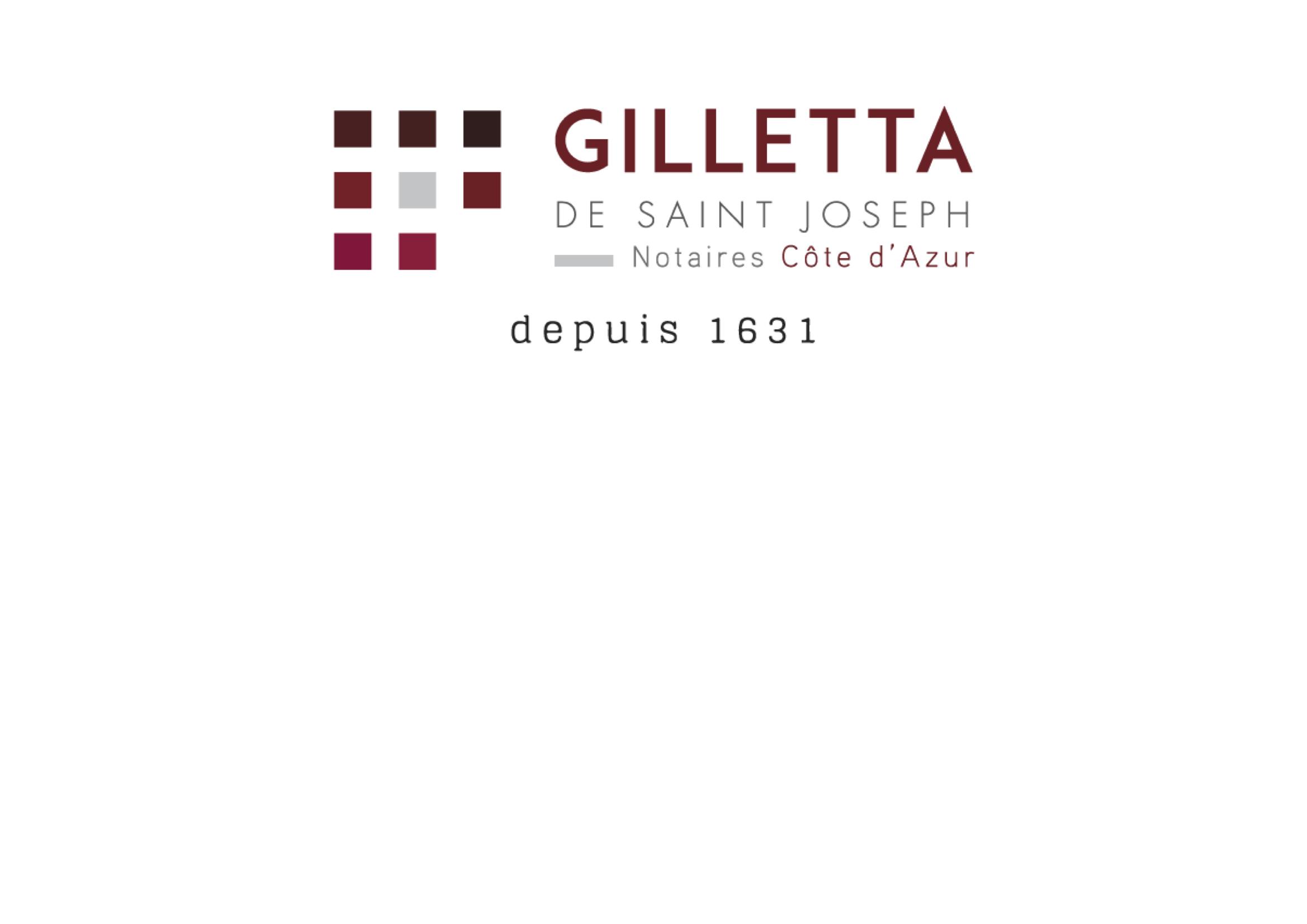 logo gilletta notaire nice notaires 06