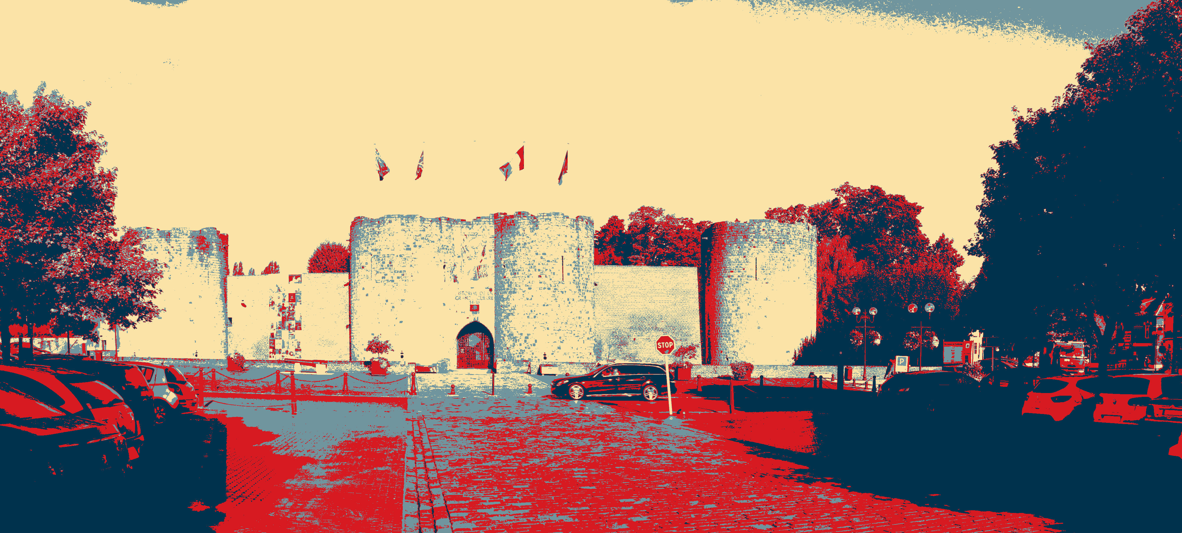 chateau abstrait