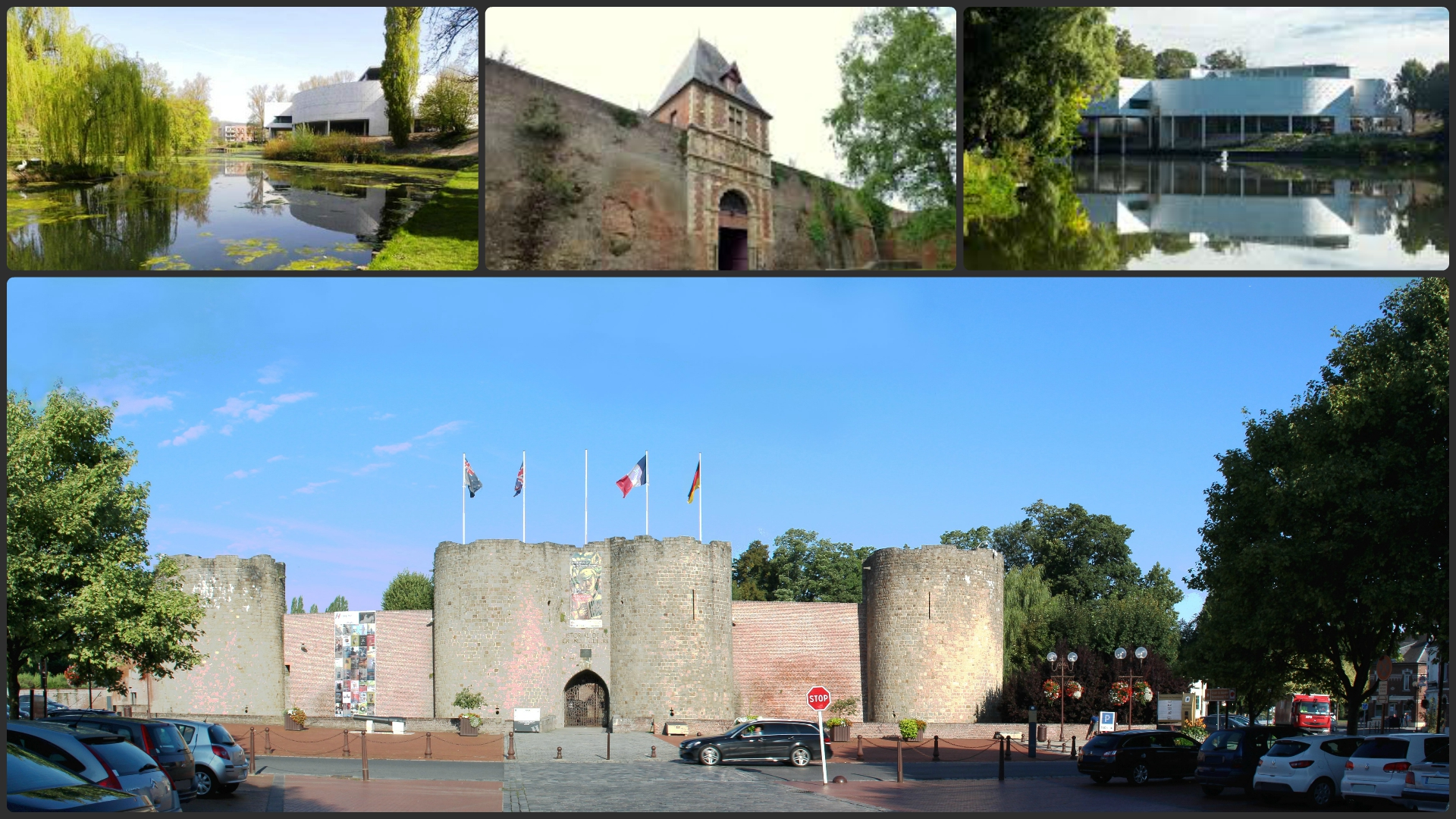 CHATEAU COLLAGE