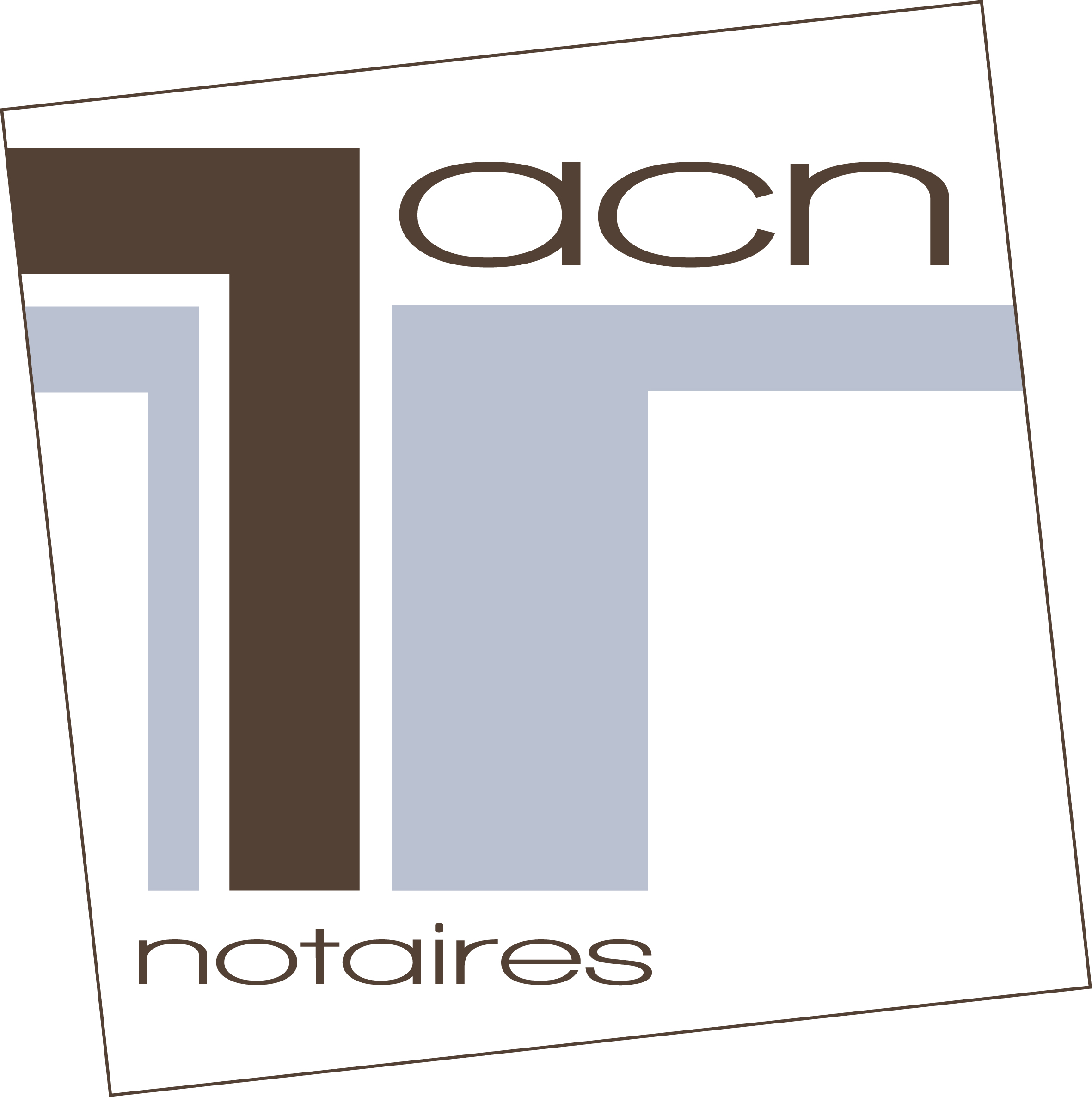 Office notarial acn notaires Taverny (logo) Maître Djourra Hamour