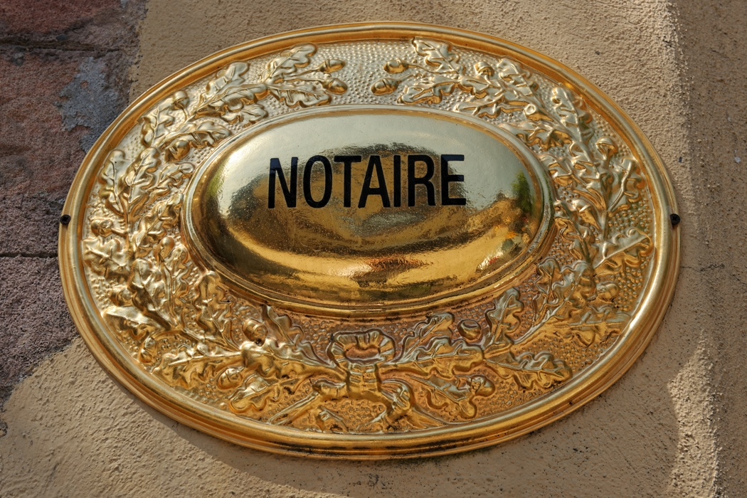 notaires succession