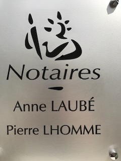 LAUBE LHOMME NOTAIRES